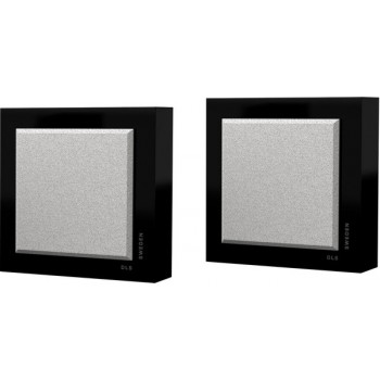 Flatbox Slim Mini, wall speaker, black piano