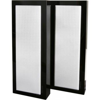 Flatbox Slim Large, wall spkr black piano