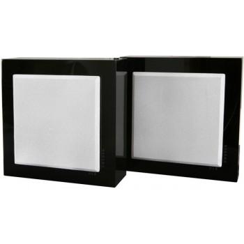 Flatbox Mini, wall speaker, black piano
