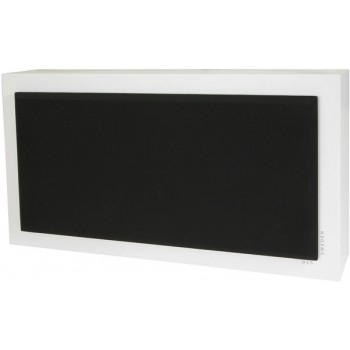 Flatsub Stereo-One, active wall sub, white