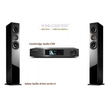 Audio mediju komplekts CA CXN + AA Artist 6