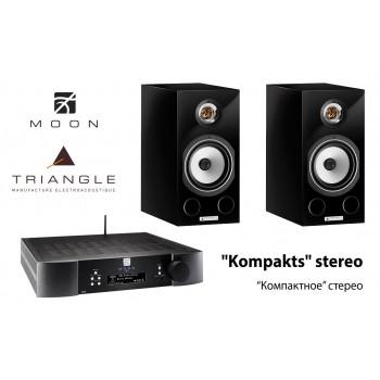 """Kompakts"" stereo - Moon + Triange"