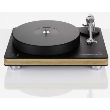 Performance DC black with wood chassis (tonearm - Satisfy Kardan alum black, cartr. - Talisman V2 Gold MC)