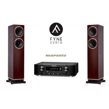 Network stereo set Marantz PM7000N & Fyneaudio F501