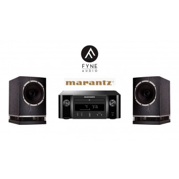Stereo SET Marantz Melody X & Fyne Audio F500
