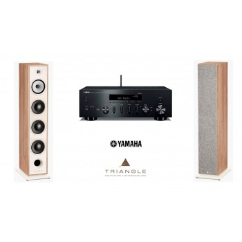 Stereo SET Yamaha R-N602 + Triangle Borea BR08