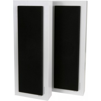 Flatbox Slim Large, wall speaker white