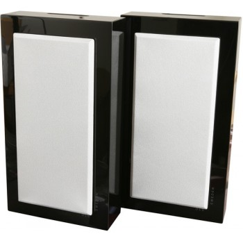 Flatbox Midi, wall speaker, black piano