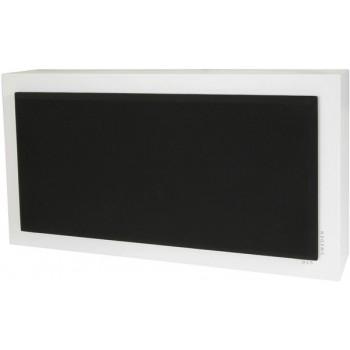 Flatsub Stereo-One, active wall sub, white