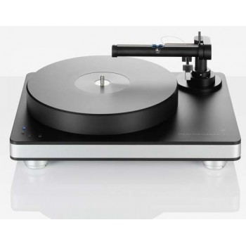 Performance DC black with silver chassis (tonearm - TT5, cartr. - Essence MC)