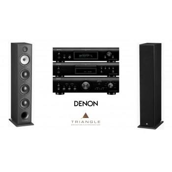 Stereo SET Denon + Borea BR09