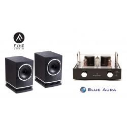 Stereo SET Blue Aura V40 & Fyne Audo F500