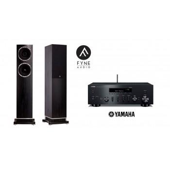 Stereo SET Yamaha R-N602 & Fyne Audio F501